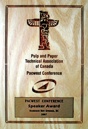 Speaker Award 2007