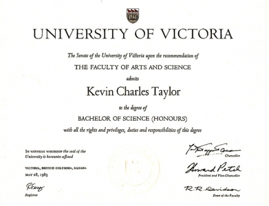 Kevin Taylor BSc
