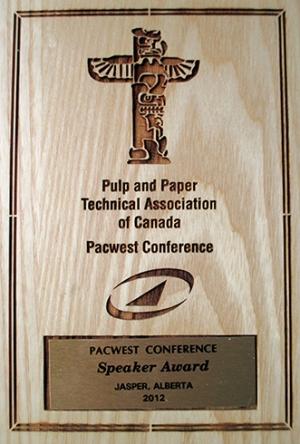 Speaker Award 2012