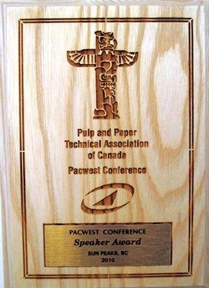 Speaker Award 2010